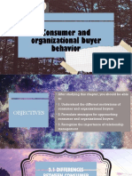 Consumer and Organizational Buyer Behavior