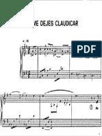 No Me Dejes Clauidicar 01 -Zezinho