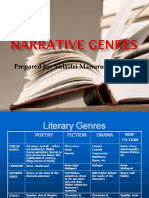Narrative Genres