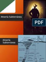 Clase N° 7 Minería Subterránea