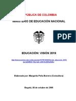 EDUCACION EN COLOMBIA s XXI