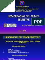 04- Hemorragias Del Primer Semestre