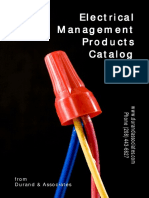 Electrical management catalog