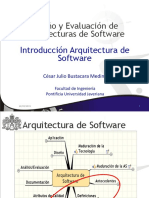 Introducción Arquitectura Software