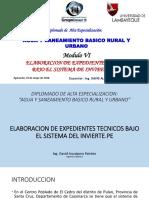 Expedientes Bajo El Marco Del Invierte.pe