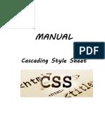Manual Css