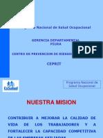 Programa Nacional de Salud Ocupacional CEPRIT