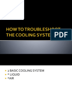How to Troubleshoot the Cooling System