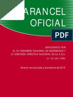 Arancel Oficial Notarial (Actualizado a Mayo de 2017)