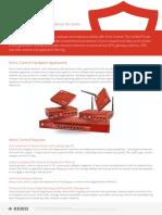 Kerio Control Hardware Appliances Datasheet