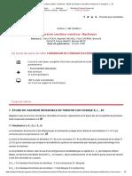 Conversion Continu-continu - Hacheurs - Étude Du Hacheur Réversible en Tension Sur Charge R, L , Ec