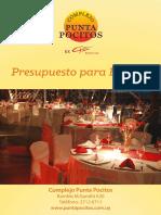 Presupuesto Punta Pocitos Fiesta 2016