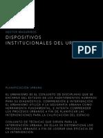 Teorica Dispisitivos Institucionales Del Urbanismo