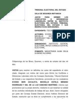 Resolución Evodio (2010)