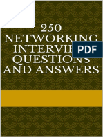 250 Networking Interview Questions and Answers - Sachin p