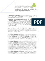 TERMO DE CONFISSÃO DE DÍVIDA E ACORDO DE PARECELAMENTO DE DÉBITO PREVIDENCIÁRIO - IVO GOBATO.docx