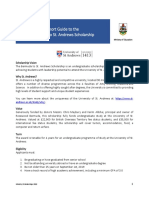 2019 Bermuda to St Andrews Scholarship Guide