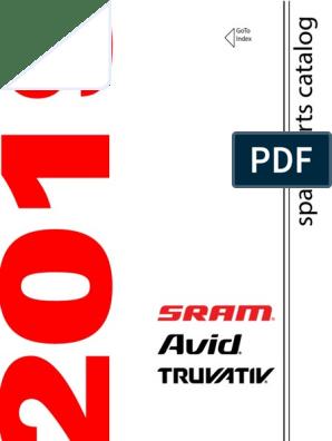 Sram Brake Lever Reservoir Cap Kit for Level// Level Ultimate// Level TLM//TL//T
