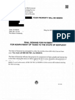 Attorney General Tax Scam