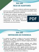 NIA 500-EVIDENCIA DE AUDITORIA.pptx