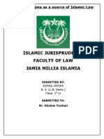 QIYAS and IJMA as a source of islamic law.doc
