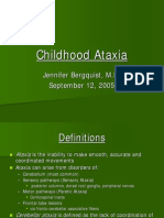 Childhood Ataxia