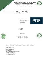Slide Apres Proj Tcc 1- Modelo