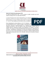 TRÍPTICO Certificación en Teoría de Restricciones