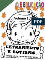 73 Letramento e Autismo Volume 1 Simone Helen Drumond
