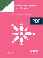 Libro La educación multigrado en México (INEE, 2019)
