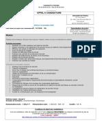 4AN01 -Adjoint-e technique en électronique, électrotechnique
