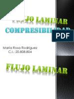 Flujo Laminar y Compresibilidad