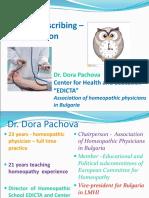 Acute Prescribing in Homeopathy