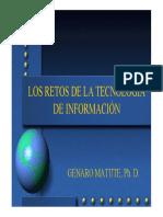 Los Retos de la Tecnologia de la Información