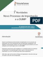 7 Novidades Sobre Novo Processo de Importacao e a Duimp
