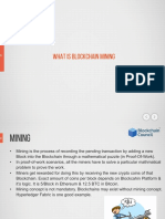 7 - What is Blockchain Mining