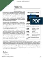 Microsoft Windows – Sistema operacional.