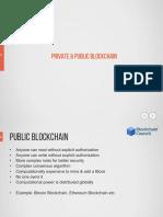 4 - Private vs Public Blockchain