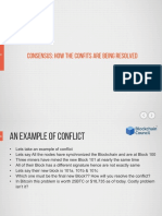 13 - Consensus How Conflicts Are Being Resolved