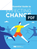 Essential Guide to effecting change