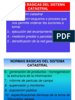 normas basicas para catastro