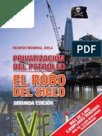 LIBRO Privatización del Petróleo, el robo del siglo, de Ricardo Monreal.pdf
