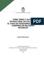 AVILA_Think tanks y ajuste estructural.pdf