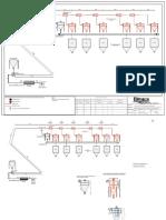 Plano B-1. Diagrama de Flujo de Proceso Del Sistema de Transporte Cafe Tostado Hacia Almacen