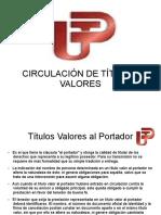 Titulos valores - Circulacion.ppt