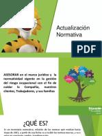 Actualización Normativa Dto 1072 y Otros 2015 Asesores