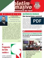 Boletim Informativo N.º 22 - Outubro/2010