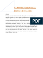 FABRICATION OF FOUR WHEEL STEERING MECHANISM.docx