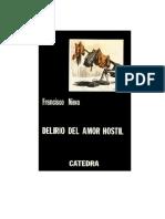 Nieva, Francisco - Delirio Del Amor Hostil