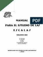 Manual Para El Estudio de La Escalas Vol2
